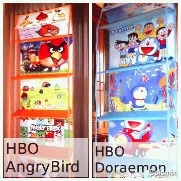 hanging bag karakter kartun