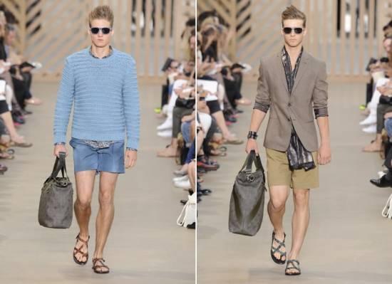 Usarei a Louis Vuitton como referência, pois na semana de Moda Masculina de  Paris (Primavera Verão 2011 2012) a marca ousou e apresentou shorts mais  curtos ... cd0fac2310