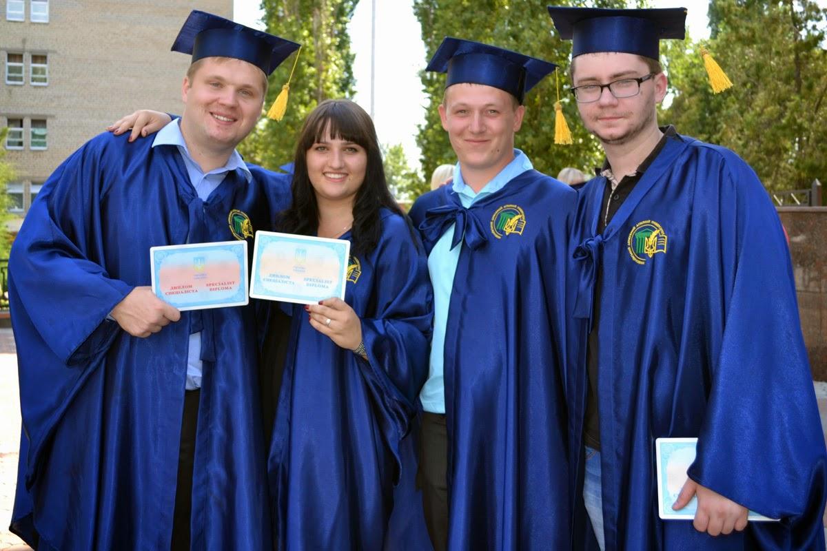 Щасливі випускники факультету ТВППТСБ