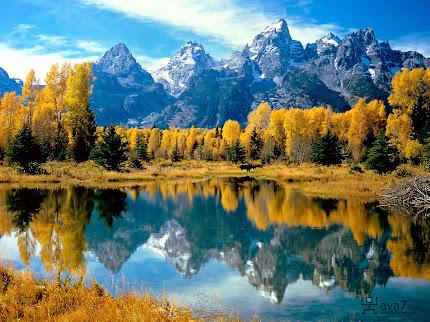 gambar gunung, foto pegunungan indah dan spektakuler