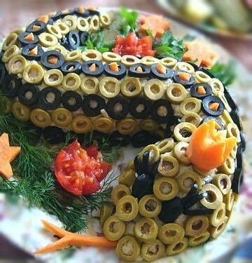 новогоднее меню год змеи