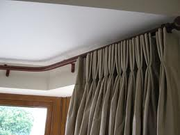 curtain rods for bay windows u2013 locating the ideal window blinds