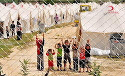Syrian Children in Refugee Camp in Turkey