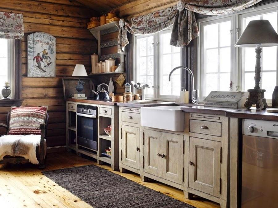wystrój wnętrz, wnętrza, urządzanie mieszkania, dom, home decor, dekoracje, aranżacje, drewniana chata, dom z bali, dom w górach, styl ludowy, styl skandynawski, kuchnia
