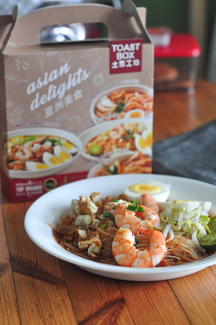 toast box asian delight mee siam review
