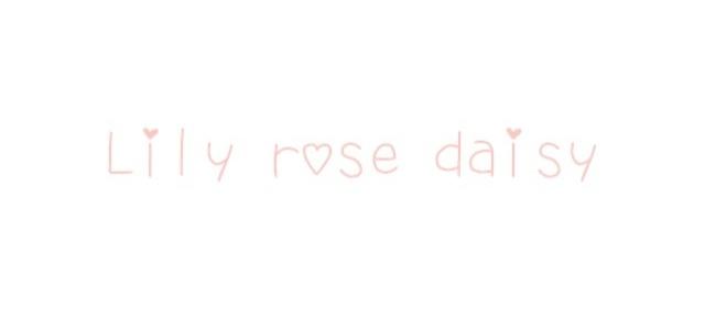 lily rose daisy