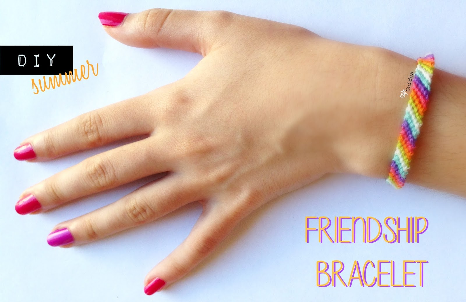 diy Friendship bracelet fashion