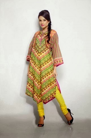 Lawn Prints Salwar Kameez for Women