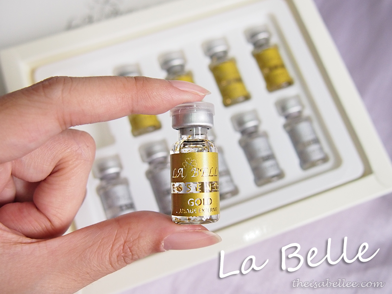 Holding La Belle beauty essence