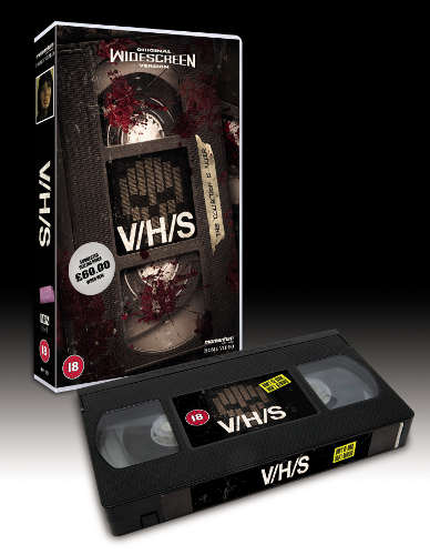 Exclusive VHS copy of V/H/S
