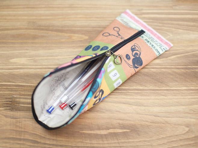 diy pencil bag pencil pouch tutorial diy tutorial ideas