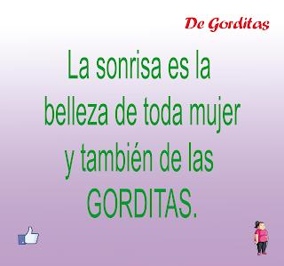 LA SONRISA BELLEZA DE GORDITAS