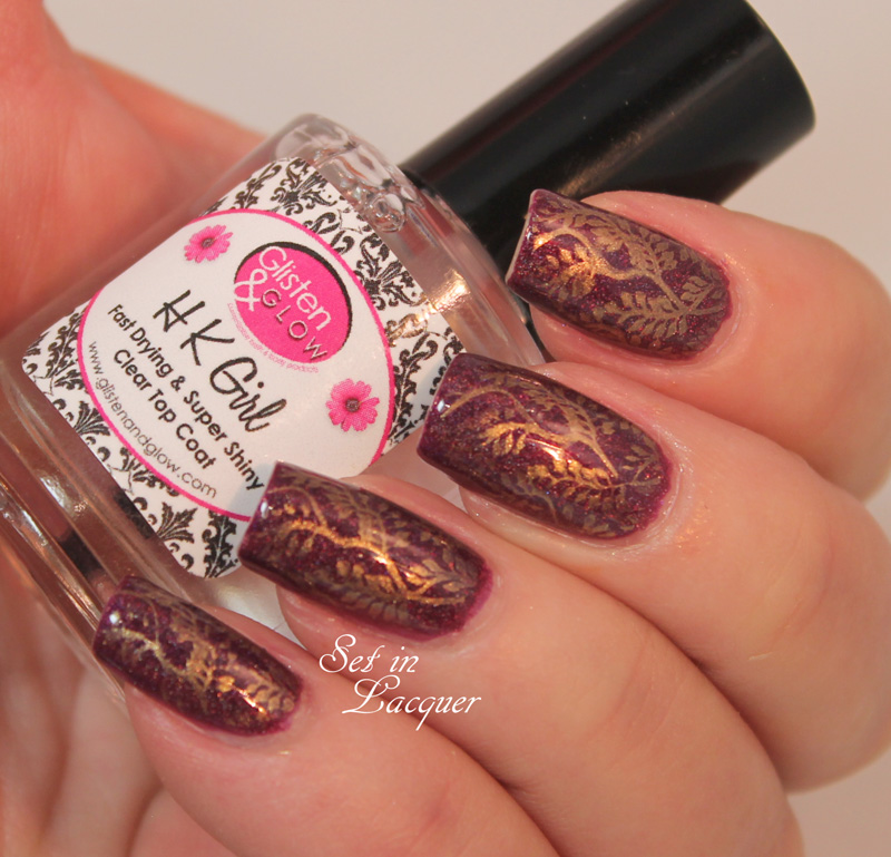 Colors by Llarowe Oxen with HK Girl top coat