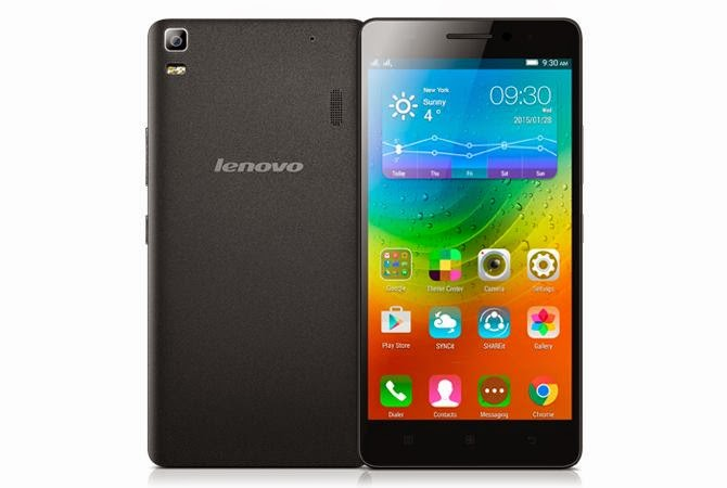 Lenovo A7000 (5.5/4G/8MP/Lollipop) Rs. 8999 Full Specification