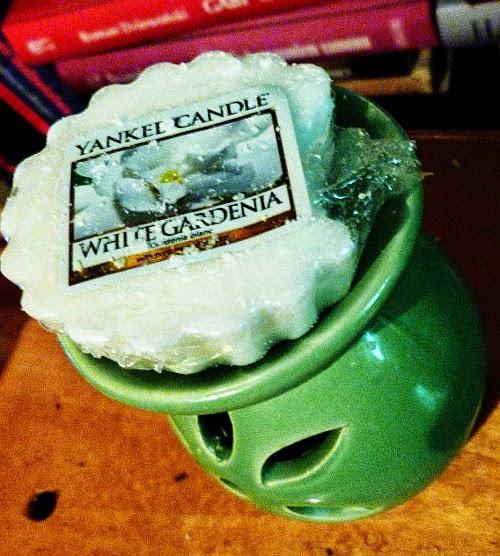 yankee candle biała gardenia