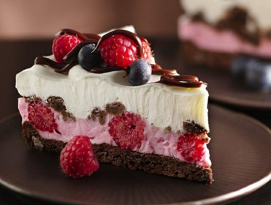 Chocolate and Berries Yogurt Dessert by Betty Crocker