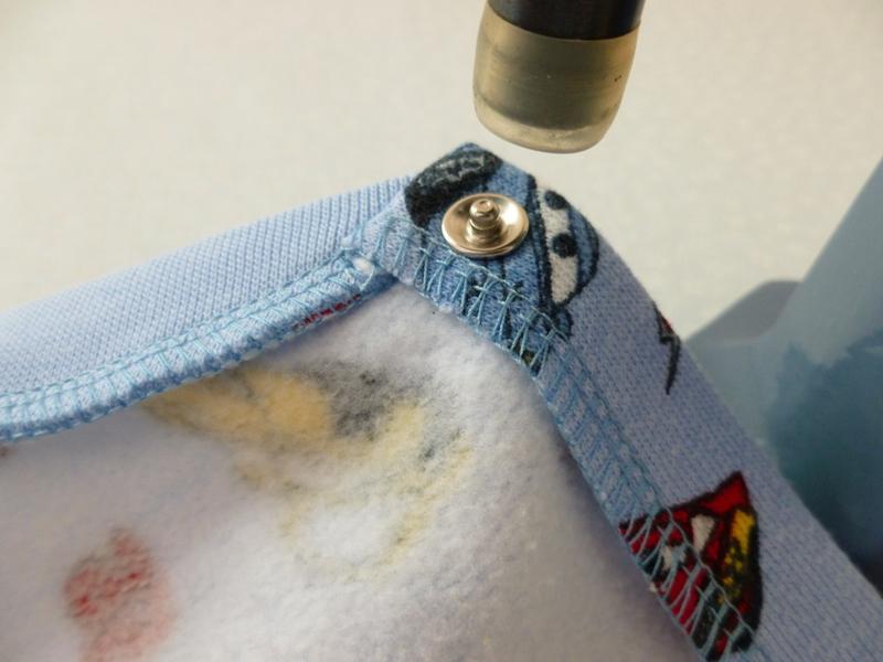 Как установить кнопки на куртку своими руками 9