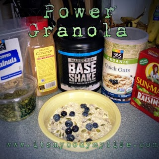 body beast, power granola