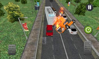 Screenshots of the Traffic racer: Burnout for Android tablet, phone.