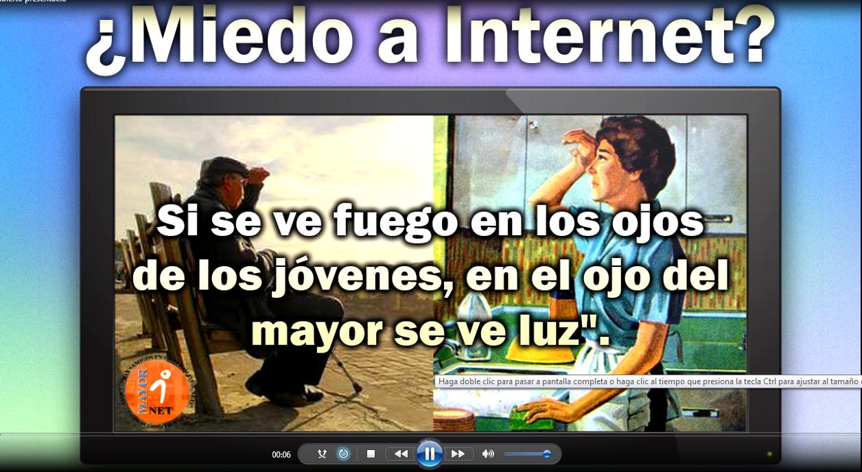 """Video promocional cursos """"Miedo a Internet?"""""""