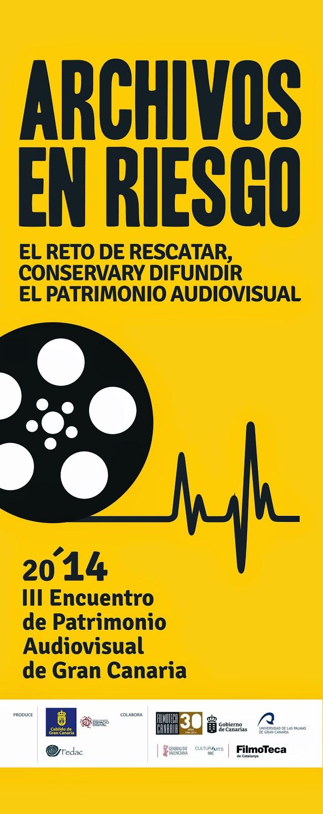III Encuentro de Patrimonio Audiovisual de Gran Canaria