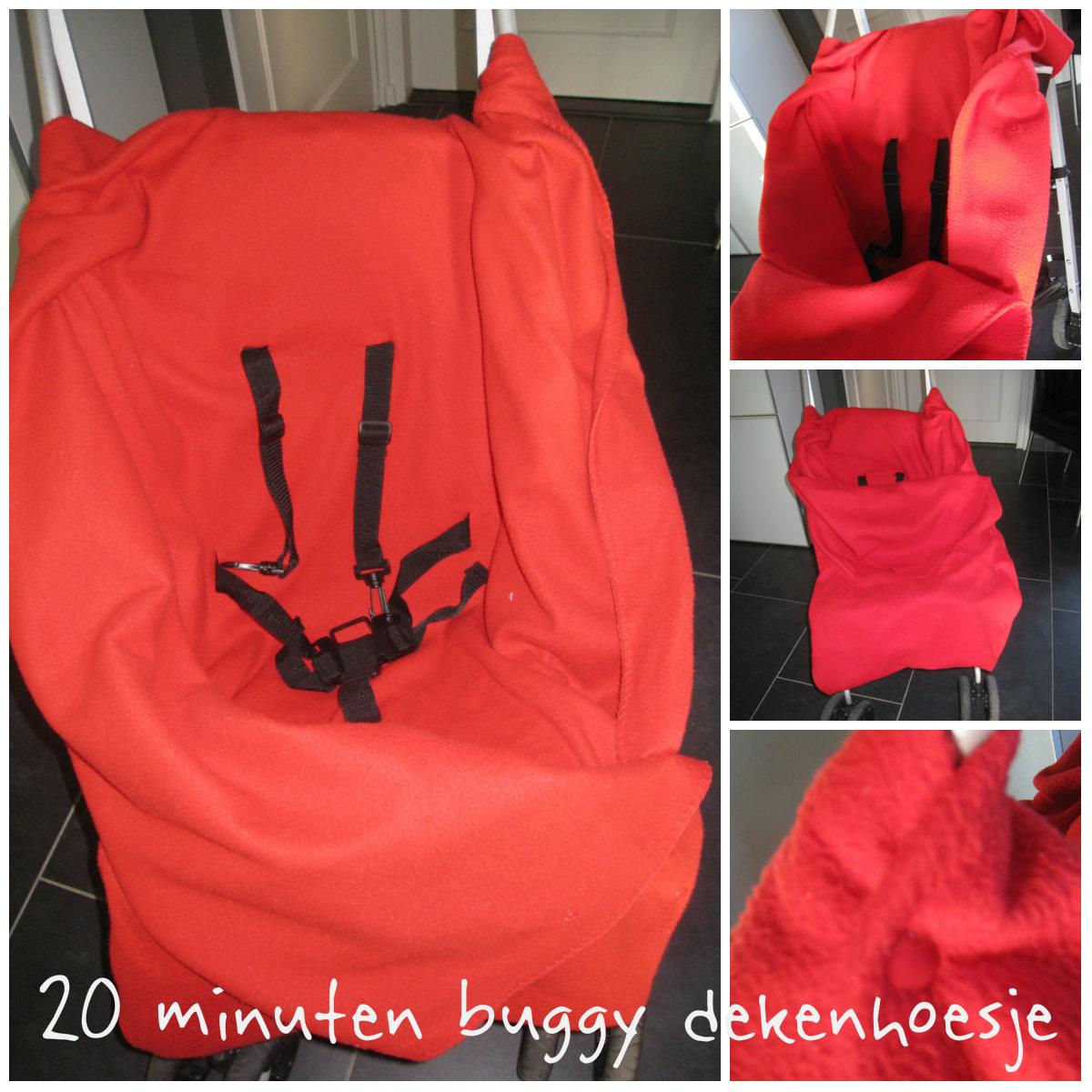 Buggy dekenhoesje in 20 minuten gemaakt, zonder naaimachine