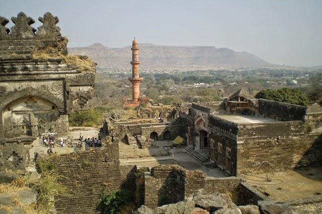 Daulatabad fort near Aurangabad in Maharashtra