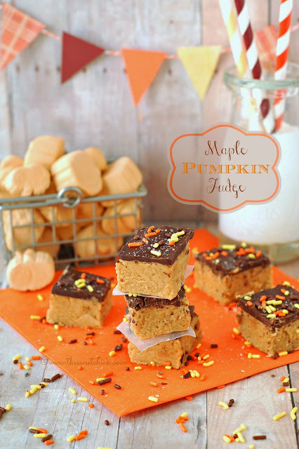 #maple #pumpkin #fudge #holiday #fall #dessert #jetpuffed