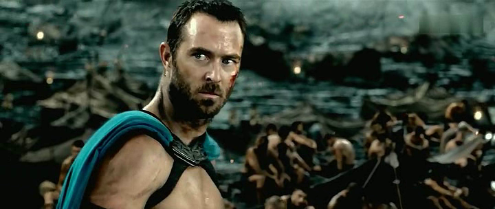 Sullivan Stapleton in 300: Rise of an Empire by oceans movie reviews