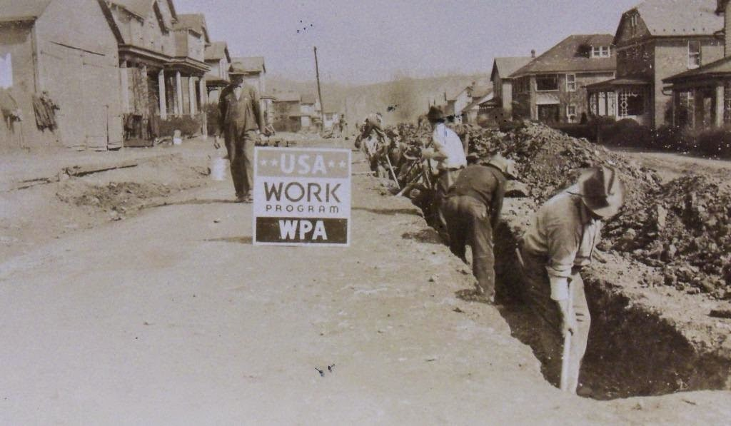 New Deal Of The Day A Water Main Installed In 1925 Breaks