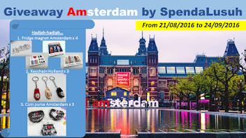 Keputusan Penuh Giveaway Amsterdam by SpendaLusuh..
