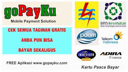 FREE Aplikasi Cek Tagihan PLN PDAM BPJS Telkom