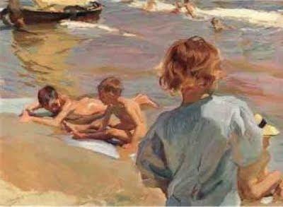 Nens a la platja (Joaquim Sorolla)