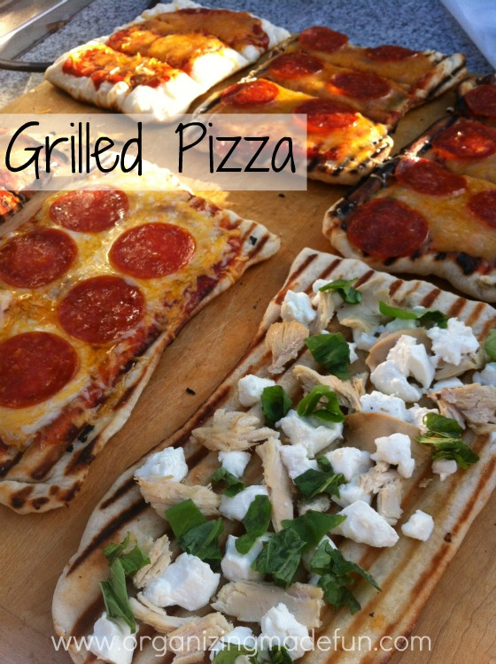 Grilled Pizza Recipe — Dishmaps