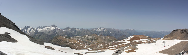 View from Les deux alpes at 3200m