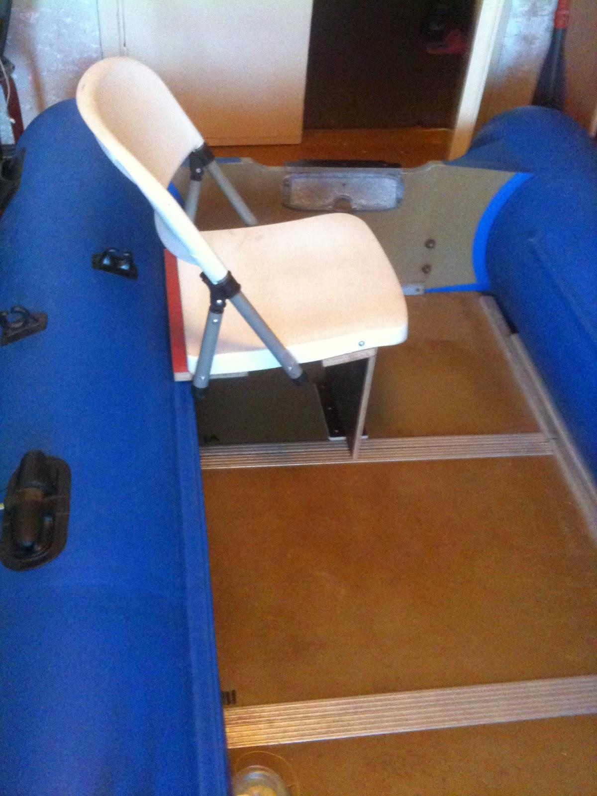 Изготовить сиденья на лодку