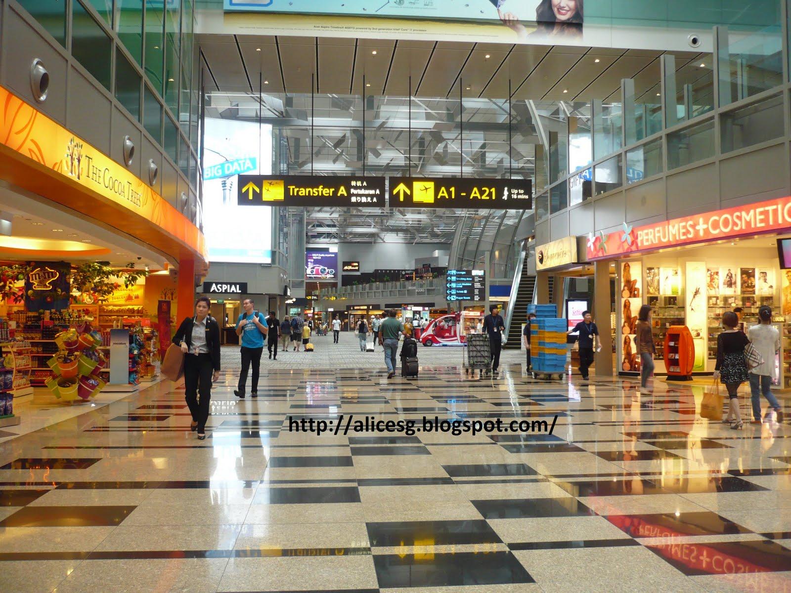 Online shopping changi airport