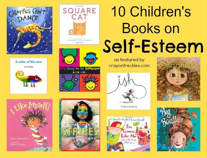 Childrens books on self esteem