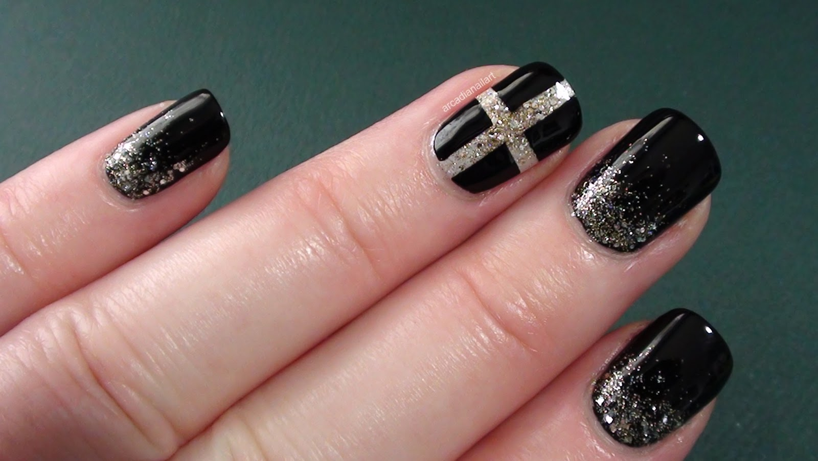 ArcadiaNailArt: Chic Chanel Inspired Nails