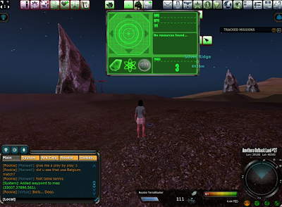 Entropia Universe - No Resource Found