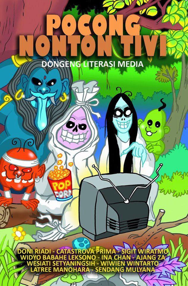 Kumcer Pocong Nonton TV