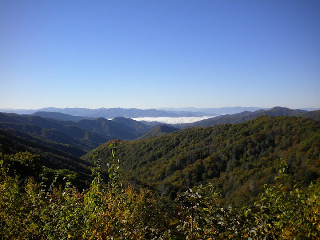 Great Smokey Mountain National Park, Great Smokeys, Great Smokey Mountain fog