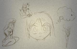 Sketches da cena