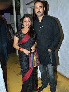 Ranvir Shorey and Konkona Sen