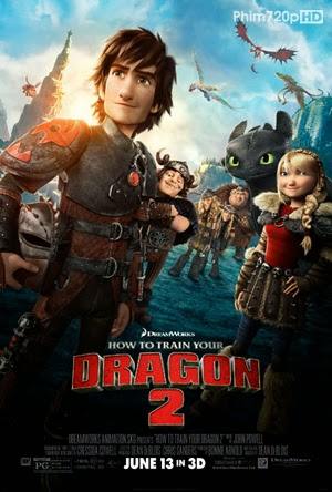 How to Train Your Dragon 2 2014 poster