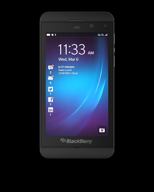 صور و موصفات موبايل بلاك بيري BlackBerry Z10 الجديد