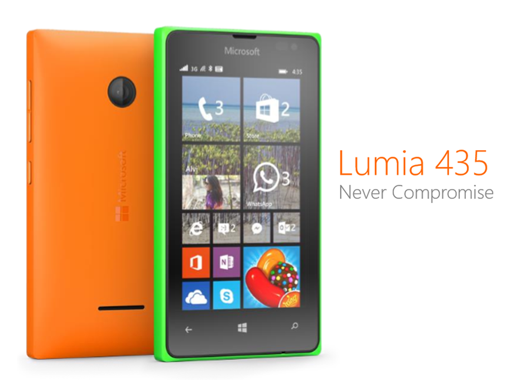 Lumia 435, The Most Affordable Lumia Device To Date! Priced At €69 (Php 3,625)