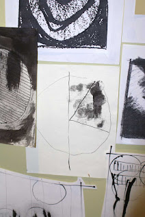 Studio wall - sketches