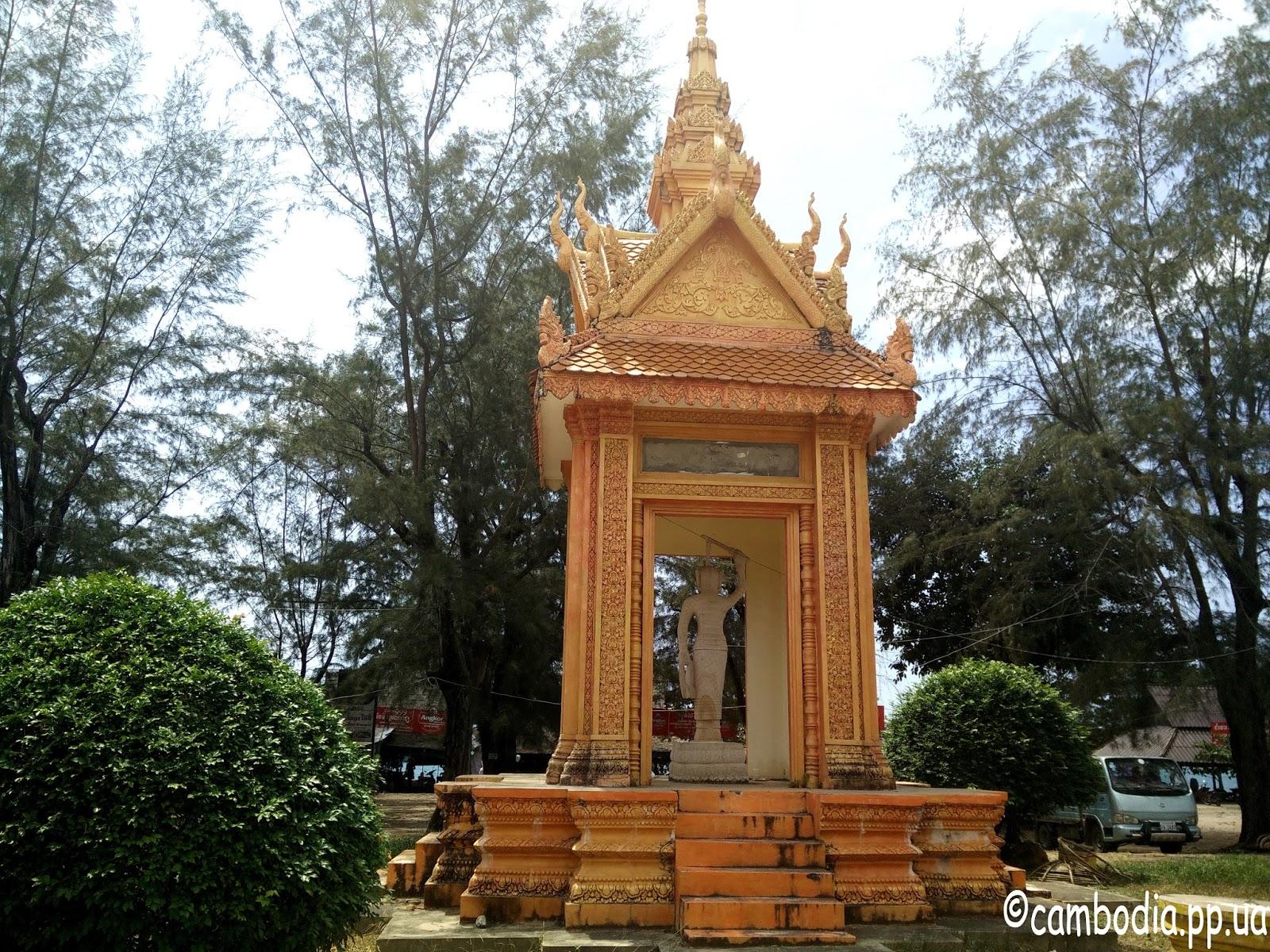 Памятник камбоджиской женщие