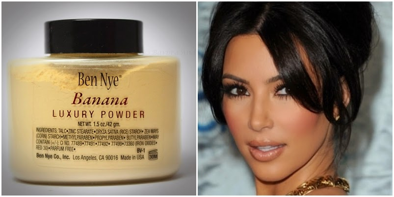 ben nye banana powder review kim kardashian highlight contour mua hype guide פודררה בננה קים קרדשיאן